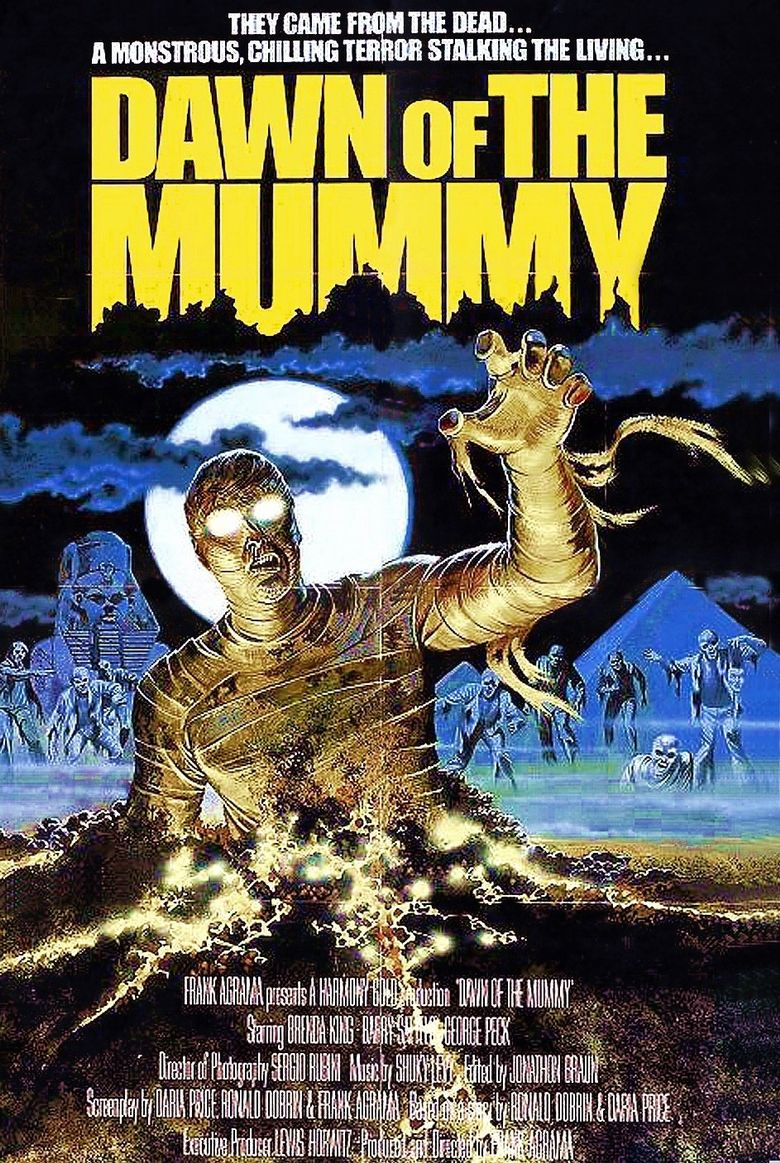 Dawn of the Mummy Poster