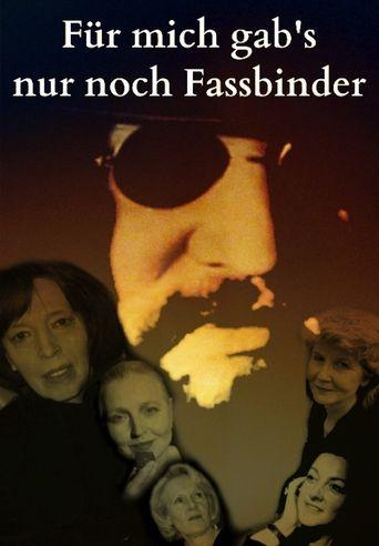 Fassbinder's Women Poster