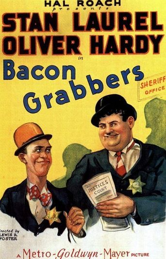 Bacon Grabbers Poster
