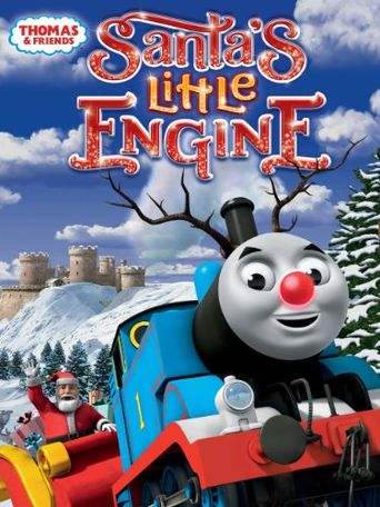 Thomas & Friends: Santa's Little Engine Poster
