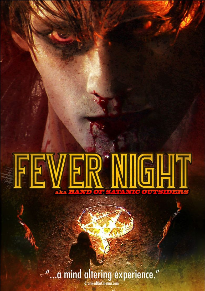 Fever Night: AKA Band of Satanic Outsiders Poster