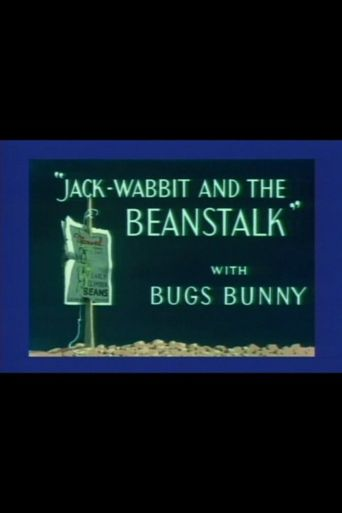 Jack-Wabbit and the Beanstalk Poster
