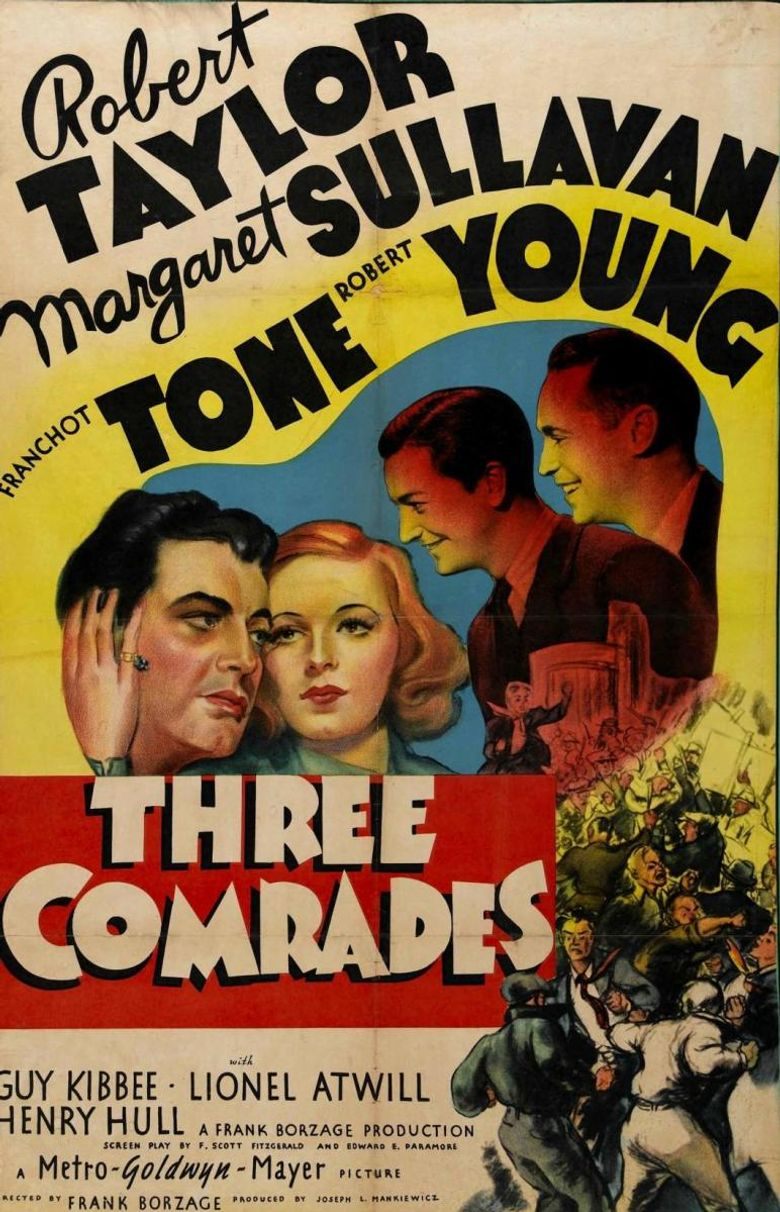 Three Comrades Poster
