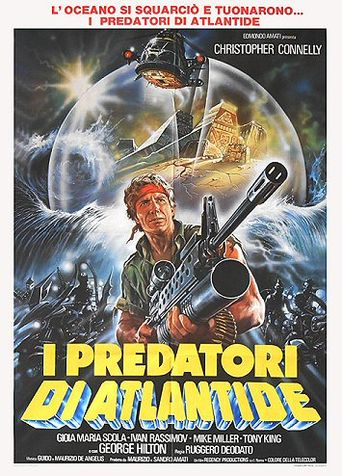 The Raiders of Atlantis Poster