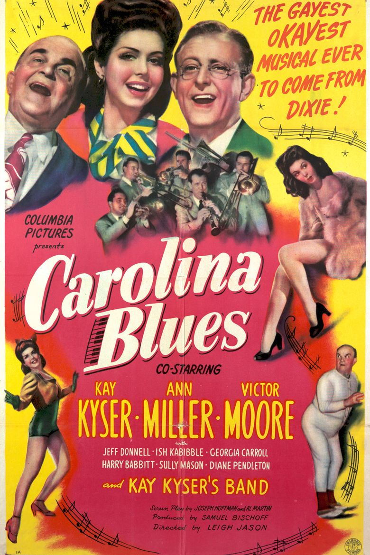 Carolina Blues Poster