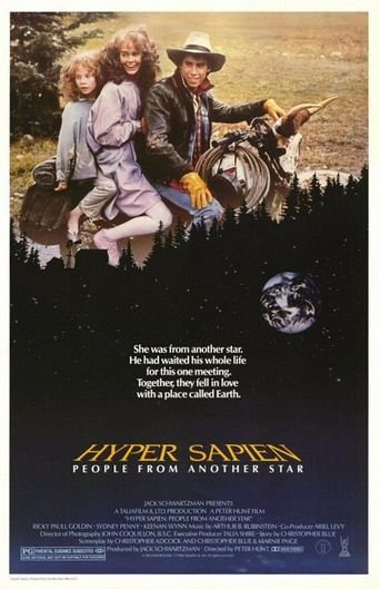 Hyper Sapien: People from Another Star Poster