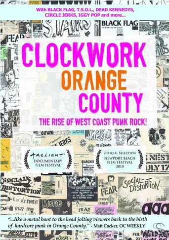 Clockwork Orange County Poster