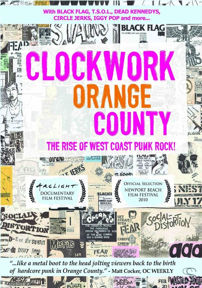 Clockwork Orange County Poster