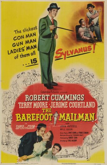 The Barefoot Mailman Poster
