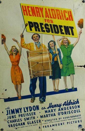 Henry Aldrich for President Poster