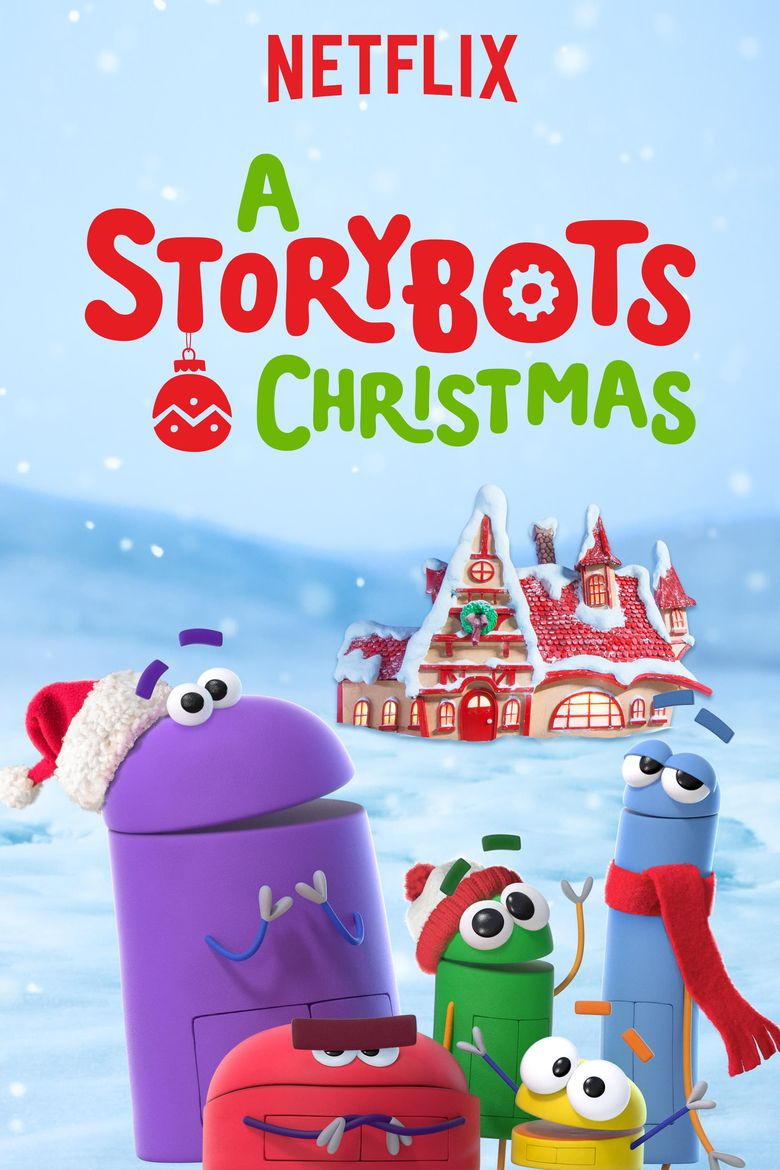 A StoryBots Christmas Poster