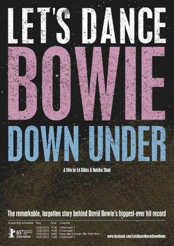 Let's Dance: Bowie Down Under Poster