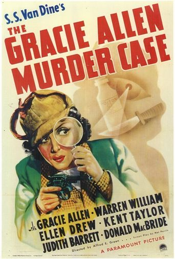 The Gracie Allen Murder Case Poster