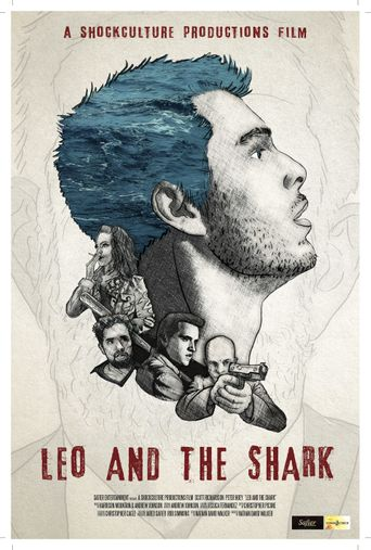 Leo and the Shark Poster