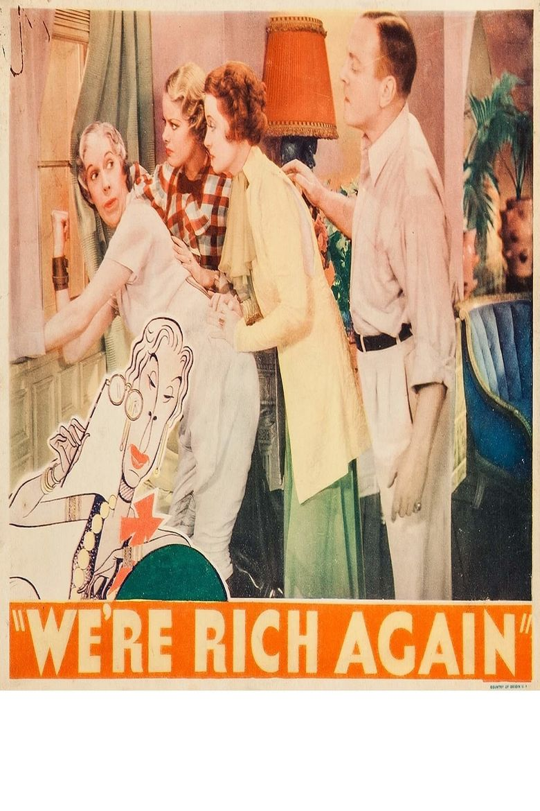 We're Rich Again Poster