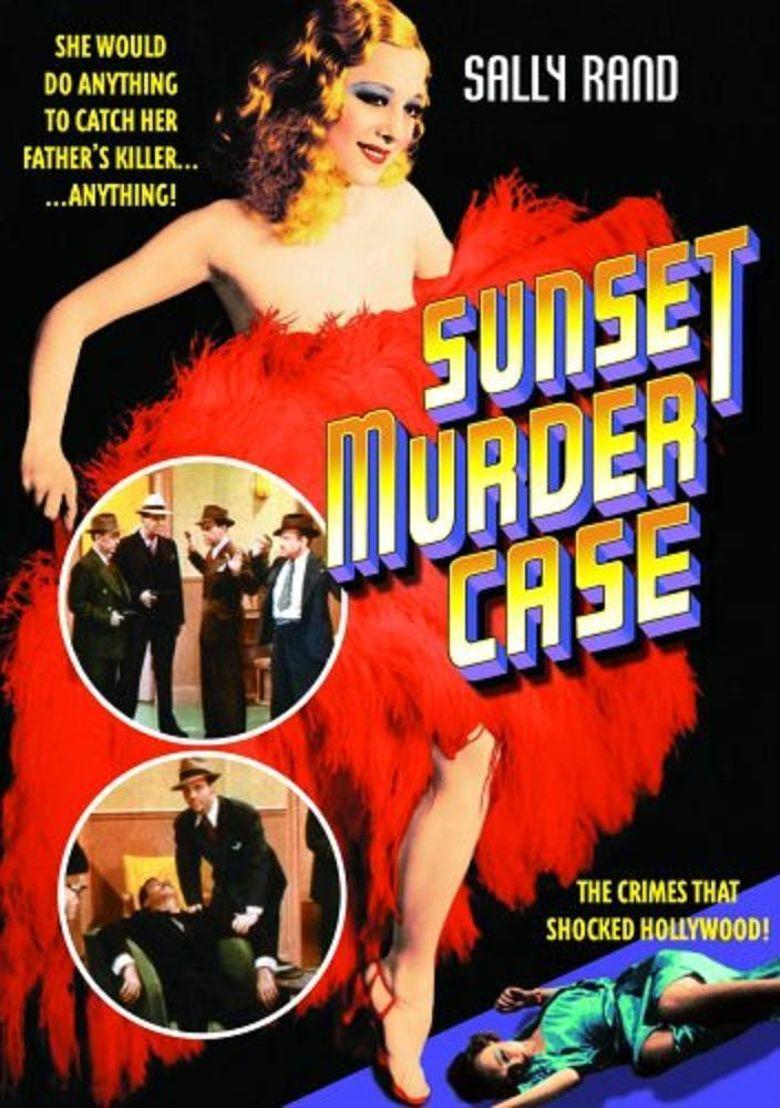 Sunset Murder Case Poster
