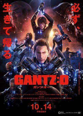 Gantz:O Poster
