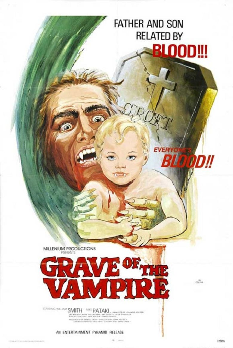 Grave of the Vampire Poster