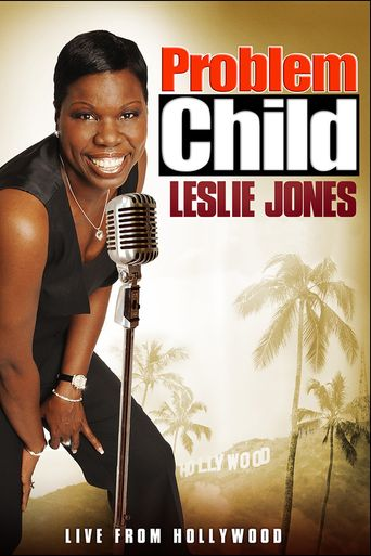 Problem Child: Leslie Jones Poster