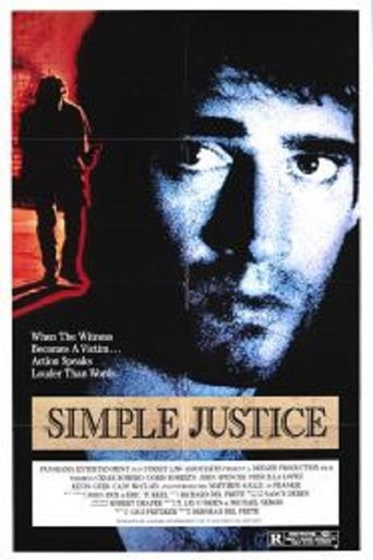 Simple Justice Poster