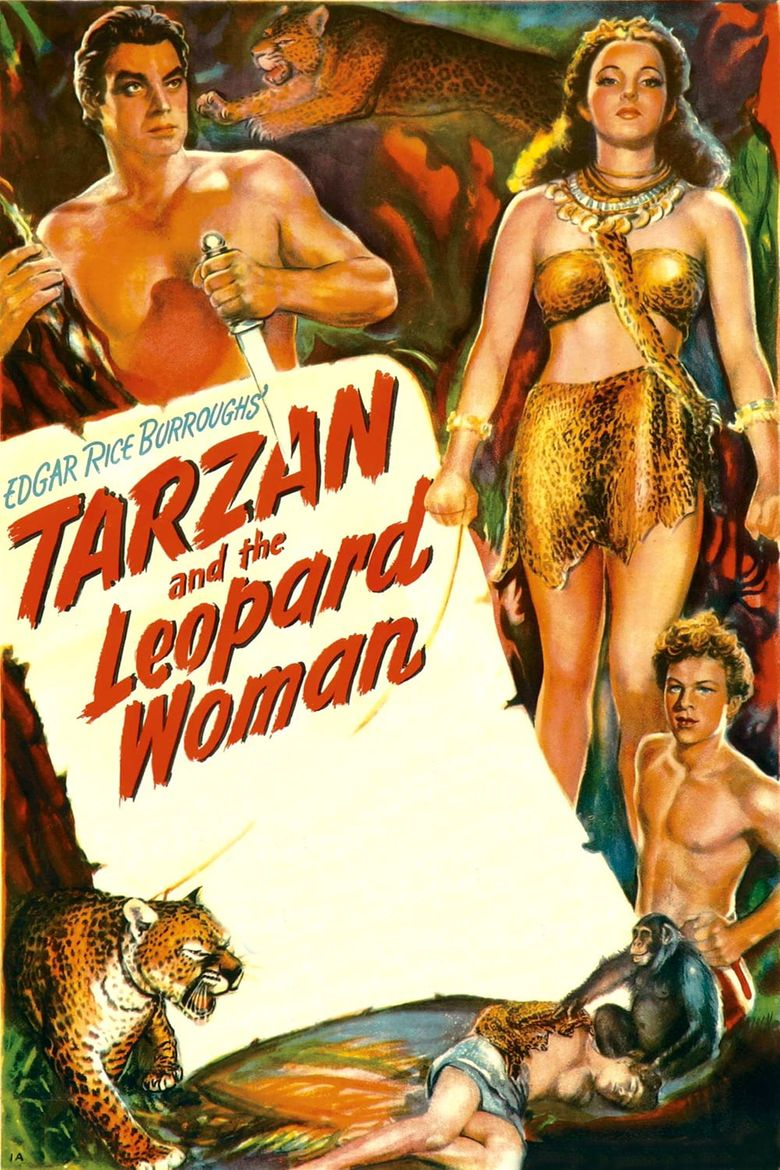 Tarzan and the Leopard Woman Poster