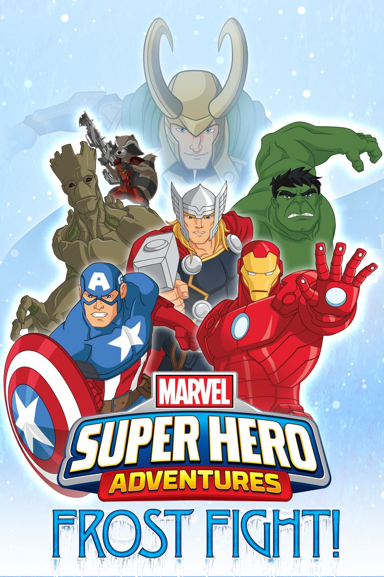 Marvel Super Heroes Adventures: Frost Fight Poster