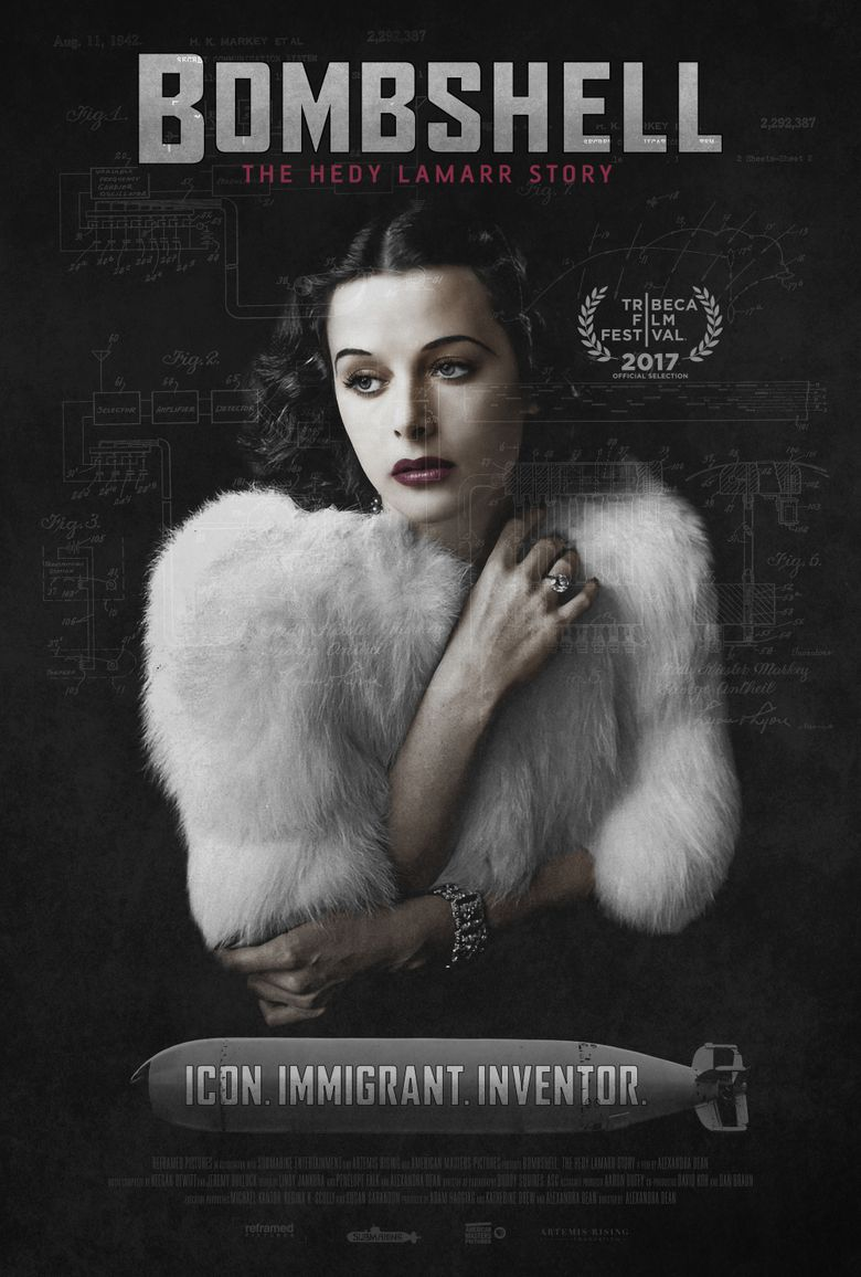 Bombshell: The Hedy Lamarr Story Poster