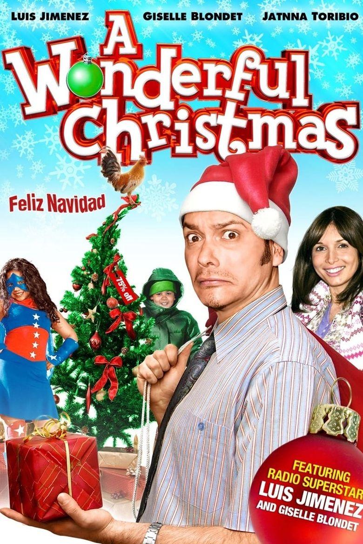 A Wonderful Christmas Poster