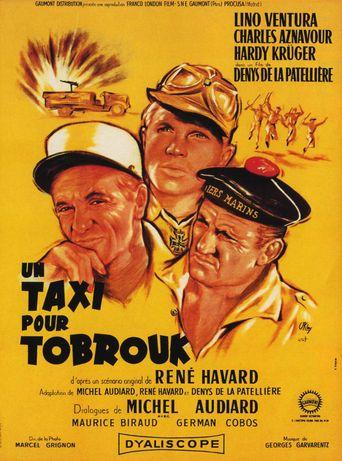 Taxi for Tobruk Poster