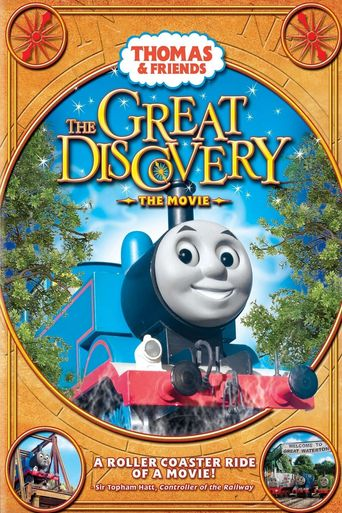Thomas & Friends: The Great Discovery: The Movie Poster