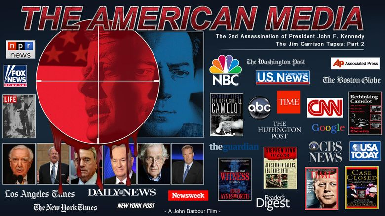 American Media & The Second Assassination of John F. Kennedy Poster