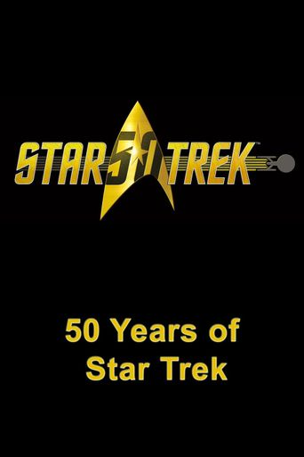 50 Years of Star Trek Poster