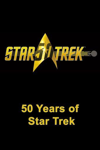50 Years of Star Trek Poster