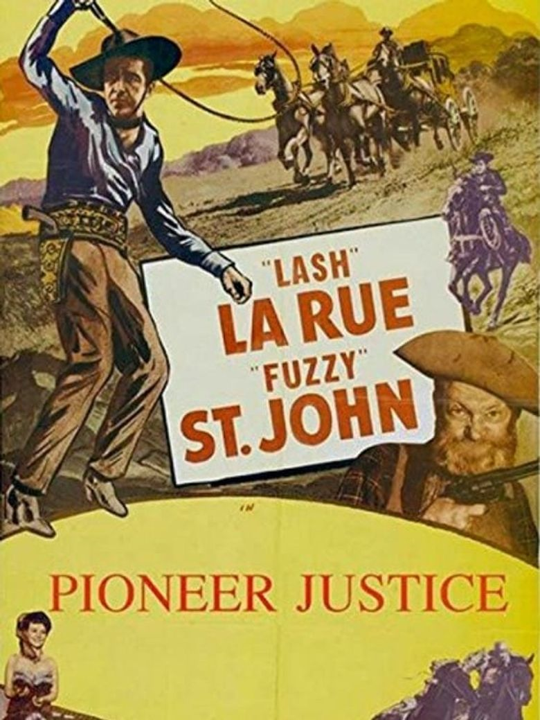Pioneer Justice Poster