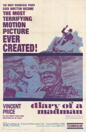 Diary of a Madman Poster