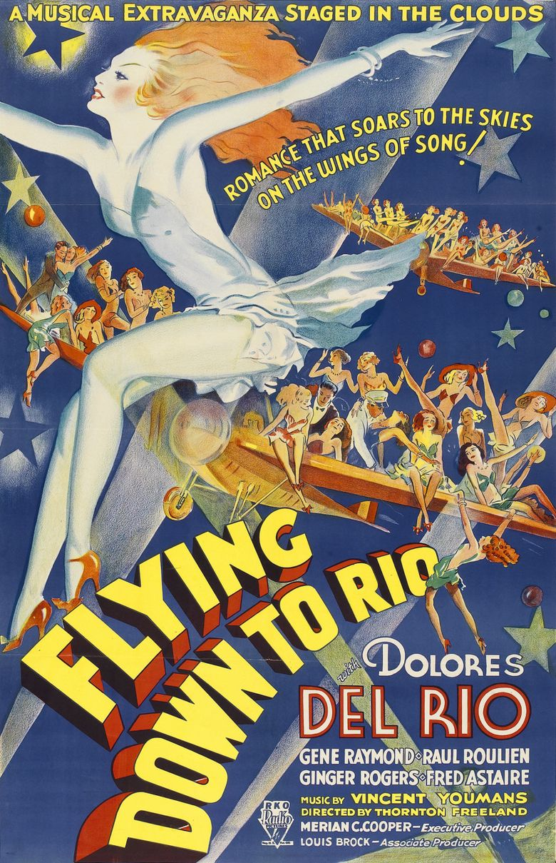 Flying Down to Rio Poster