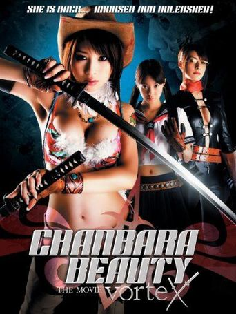 Oneechanbara THE MOVIE vorteX Poster