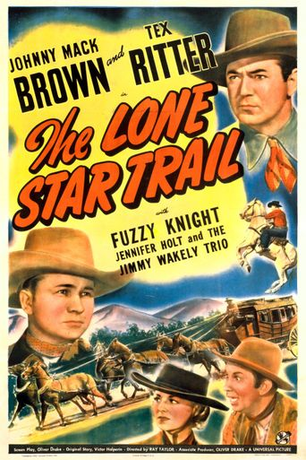The Lone Star Trail Poster