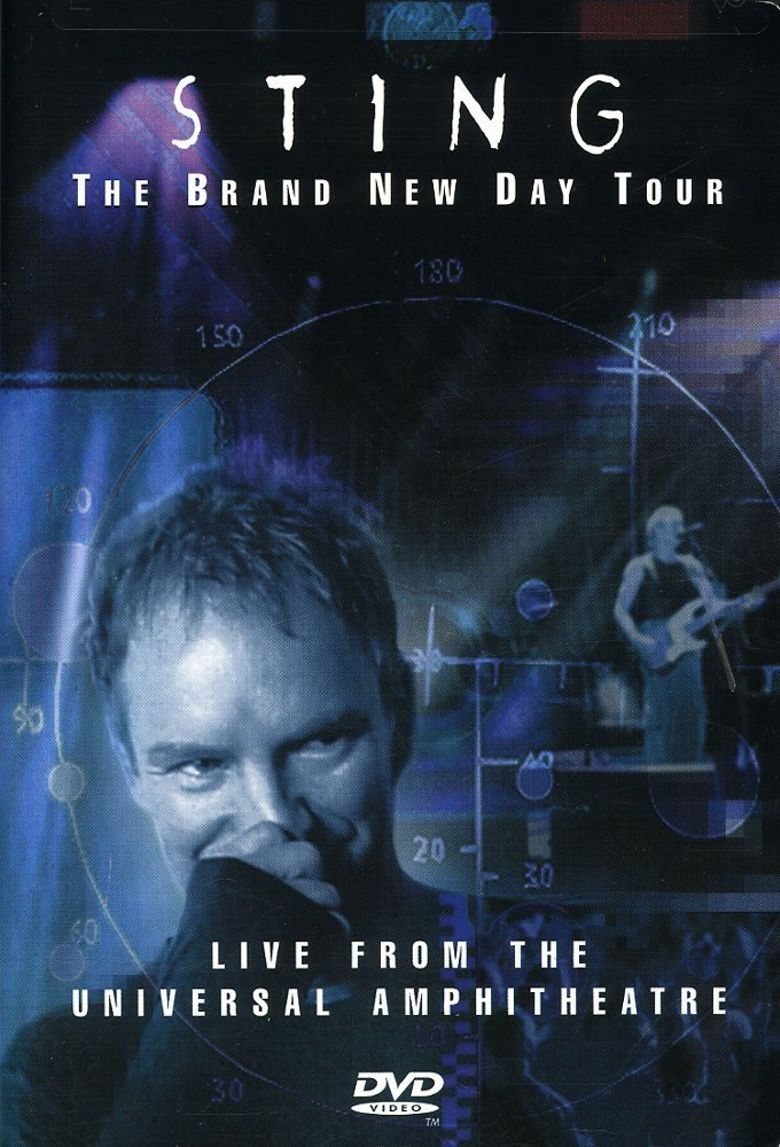 Sting: The Brand New Day Tour: Live From The Universal Amphitheatre Poster