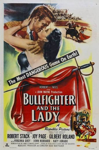 Bullfighter and the Lady Poster