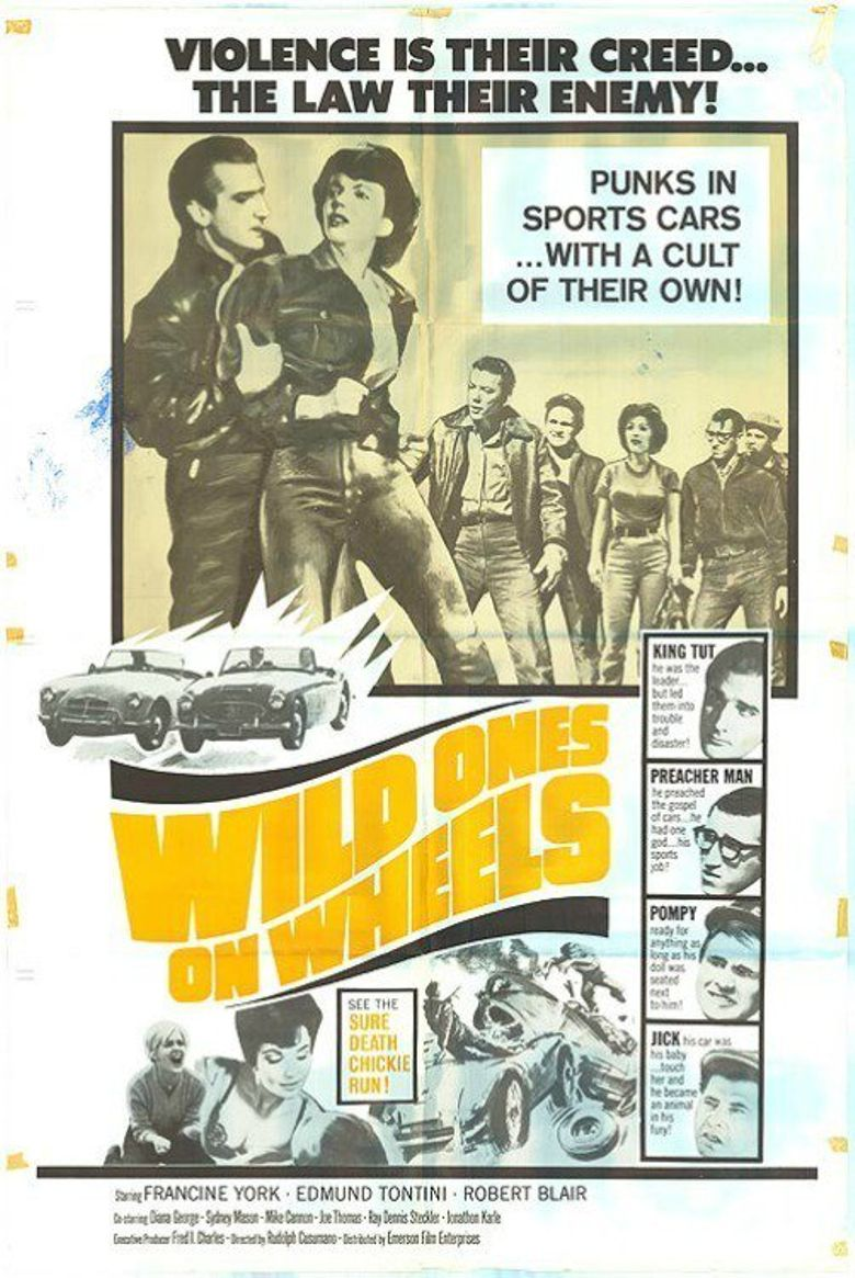 Wild Ones on Wheels Poster