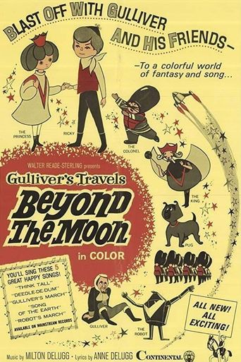 Gulliver's Travels Beyond the Moon Poster