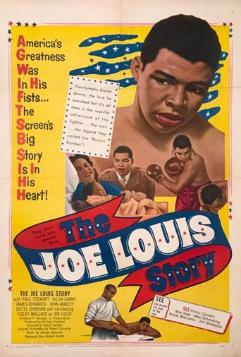 The Joe Louis Story Poster
