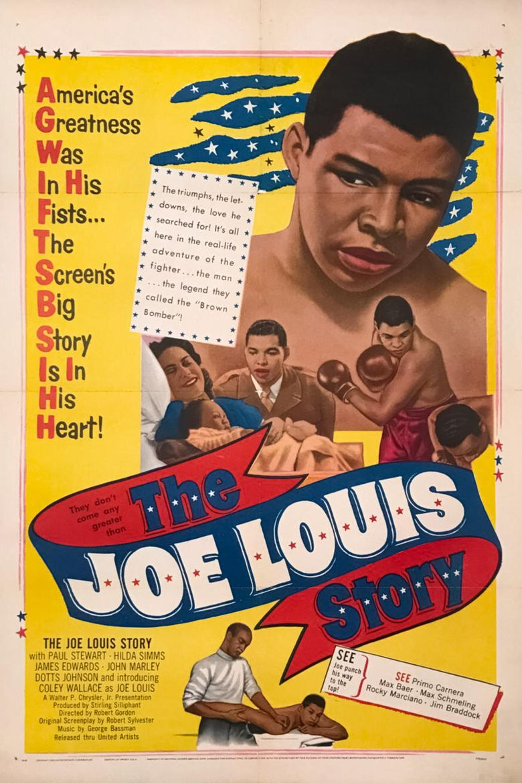 The Joe Louis Story Poster