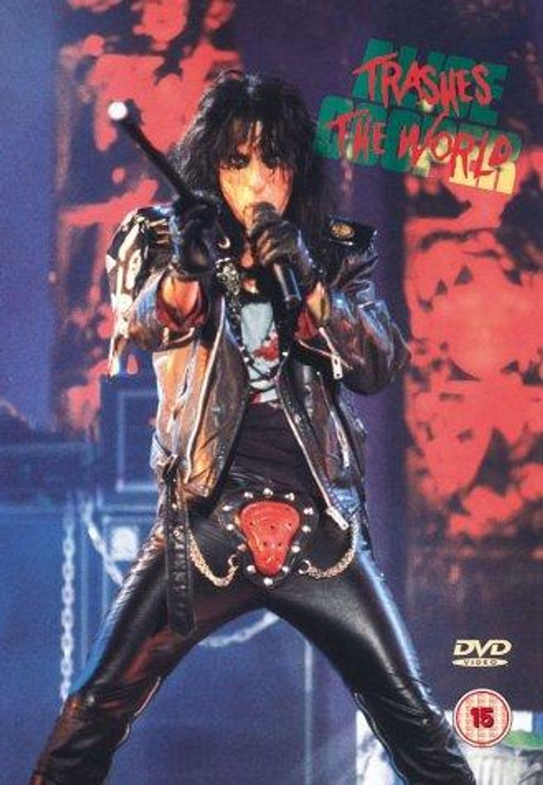Alice Cooper : Trashes the World Poster