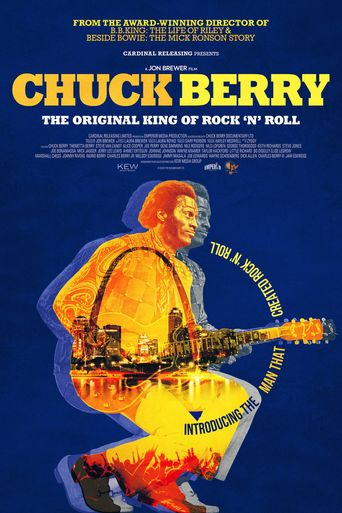 Chuck Berry: The Original King of Rock 'n' Roll Poster