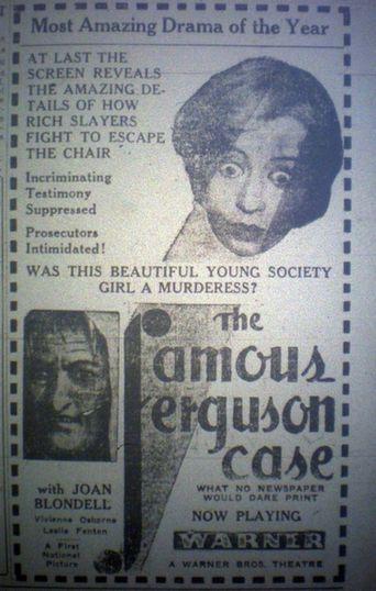 The Famous Ferguson Case Poster