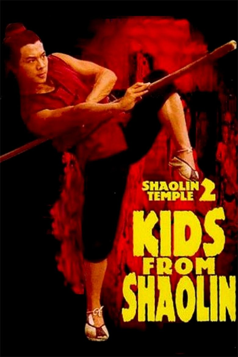 Shaolin Temple 2: Kids from Shaolin Poster