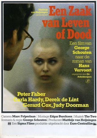 Een zaak van leven of dood Poster