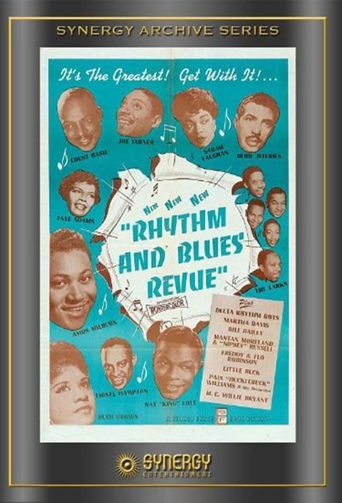 Rhythm and Blues Revue Poster